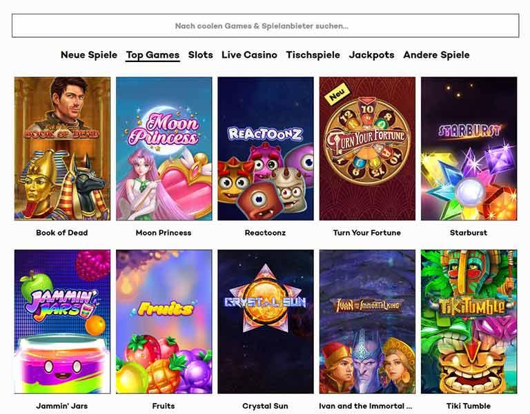 highroller casino spiele