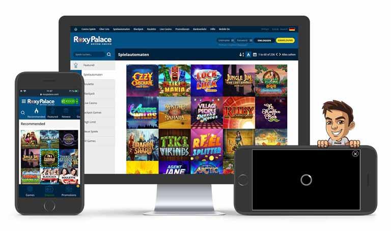 roxy palace casino spiele