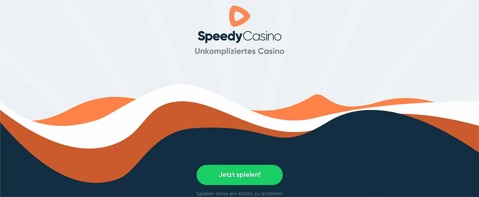 Lobby des Speedy Casino