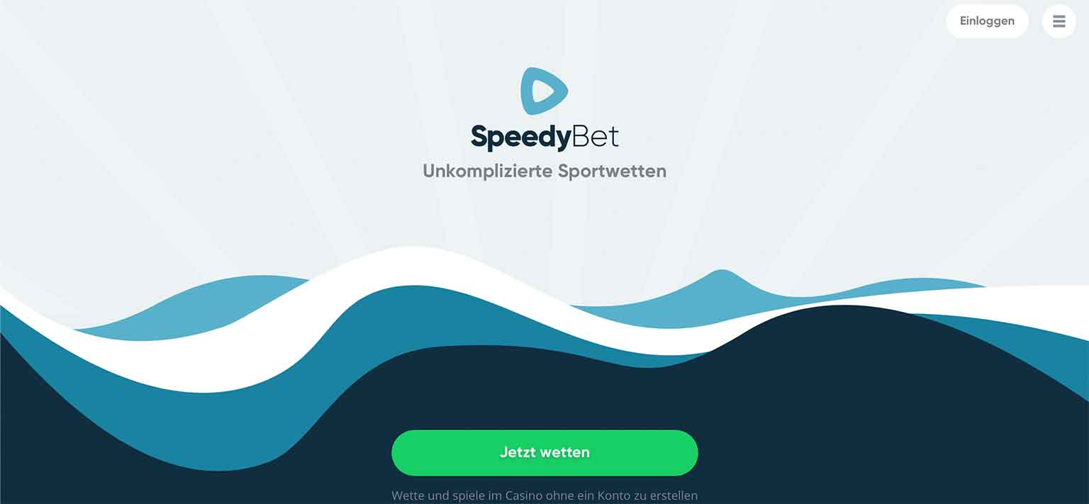 Lobby von SpeedyBet
