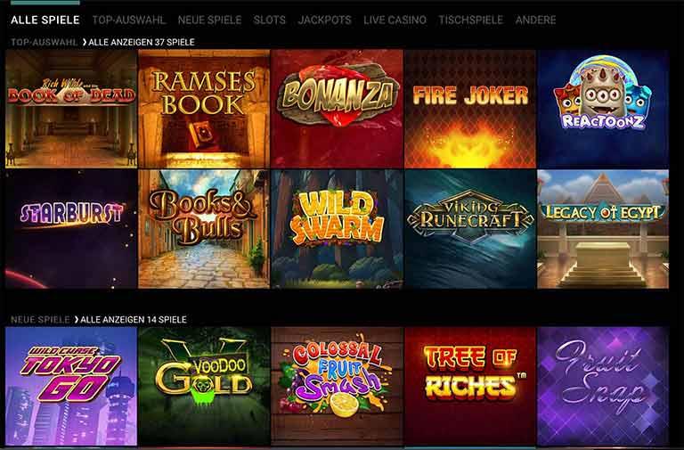 voodoo dreams casino spiele
