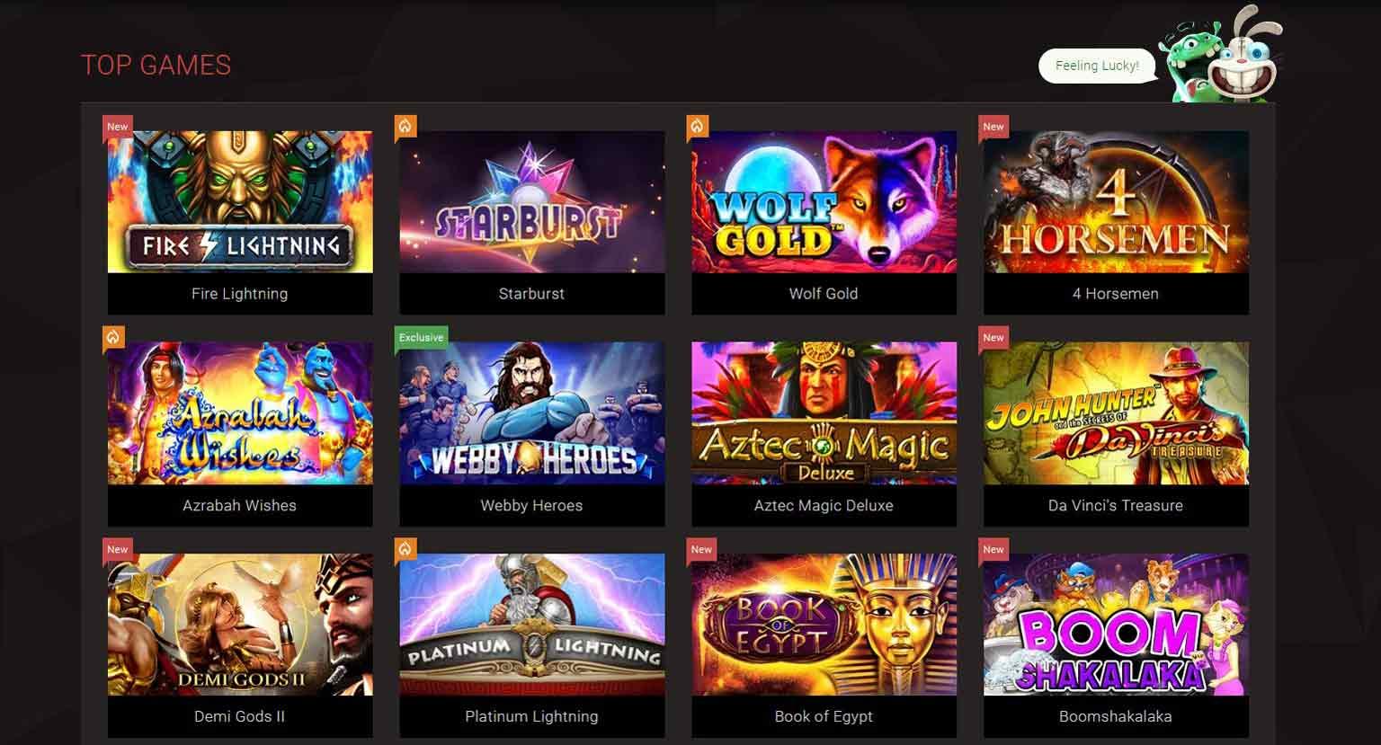 bitStarz Casino Spiele