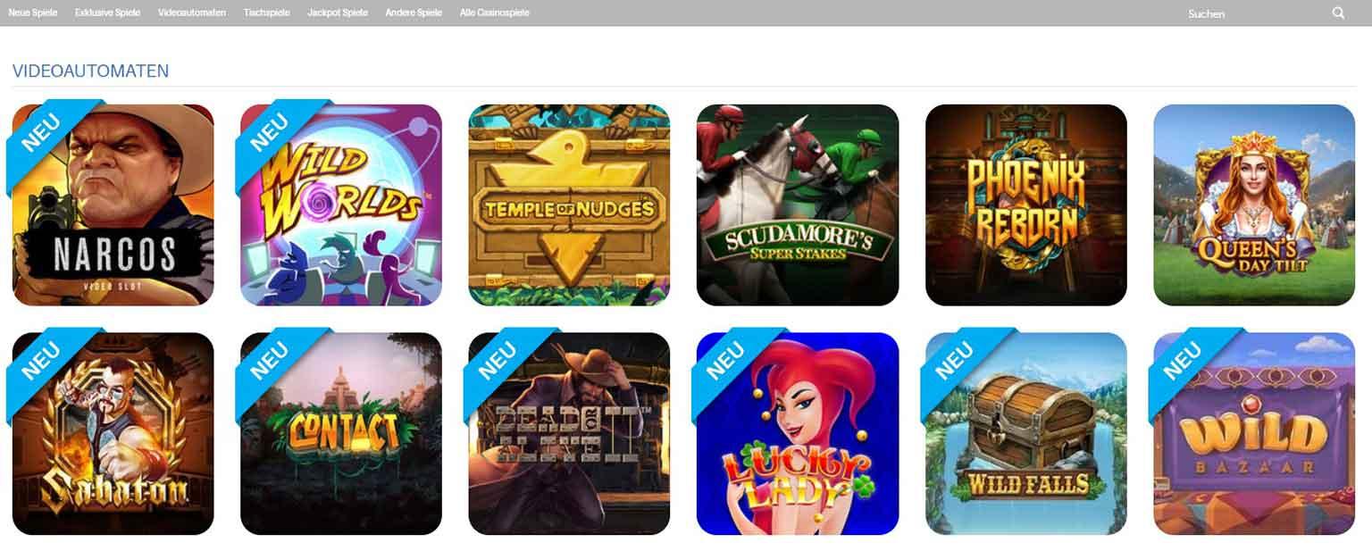 Schnellwetten Casino Spiele