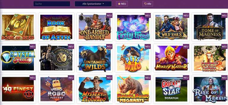 Lord Lucky Casino Spiele