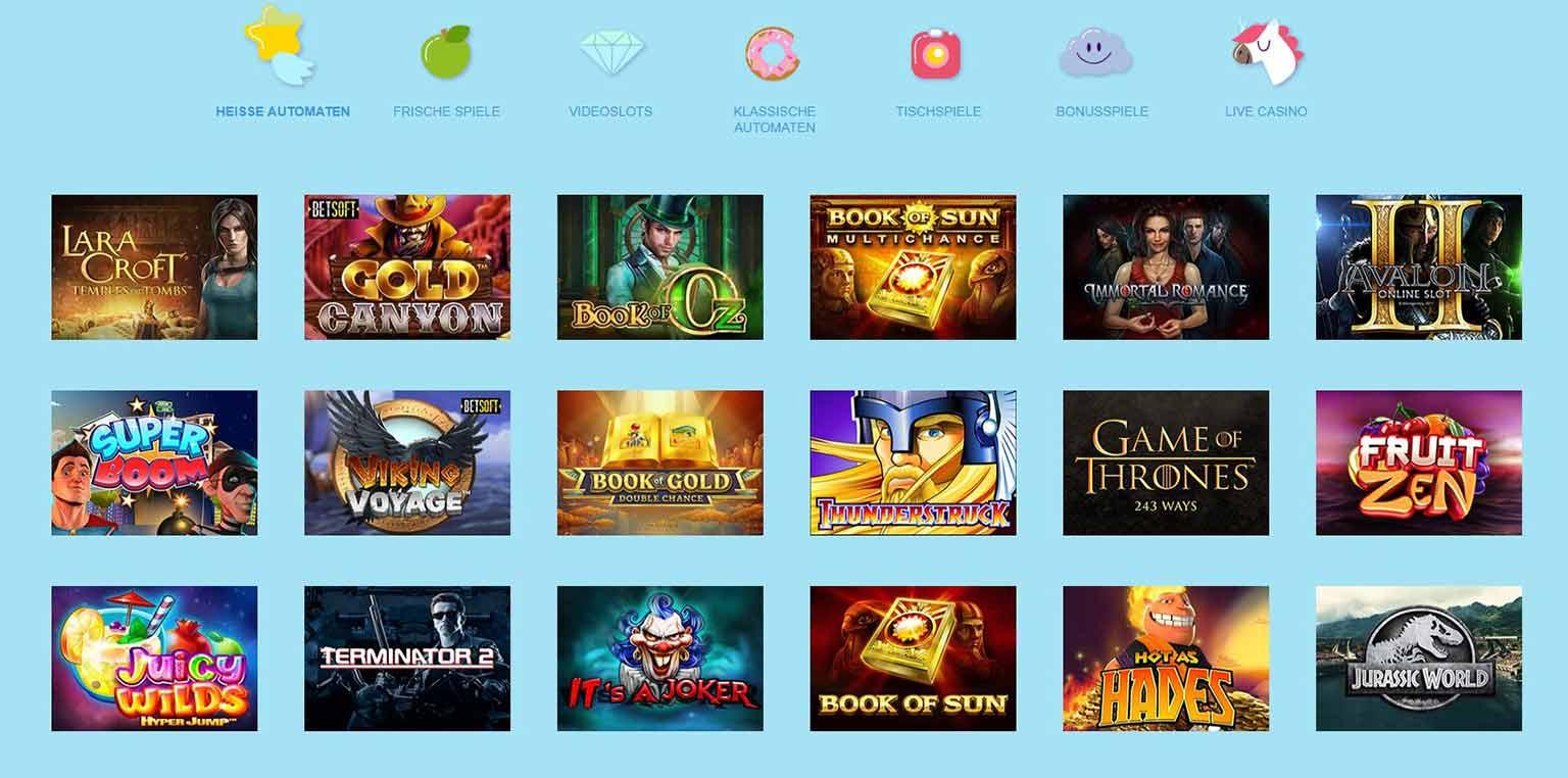 Reeltastic Casino Spiele
