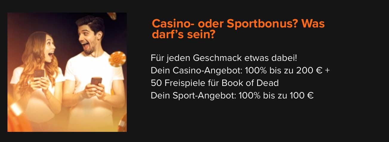 Casinowinner Bonus