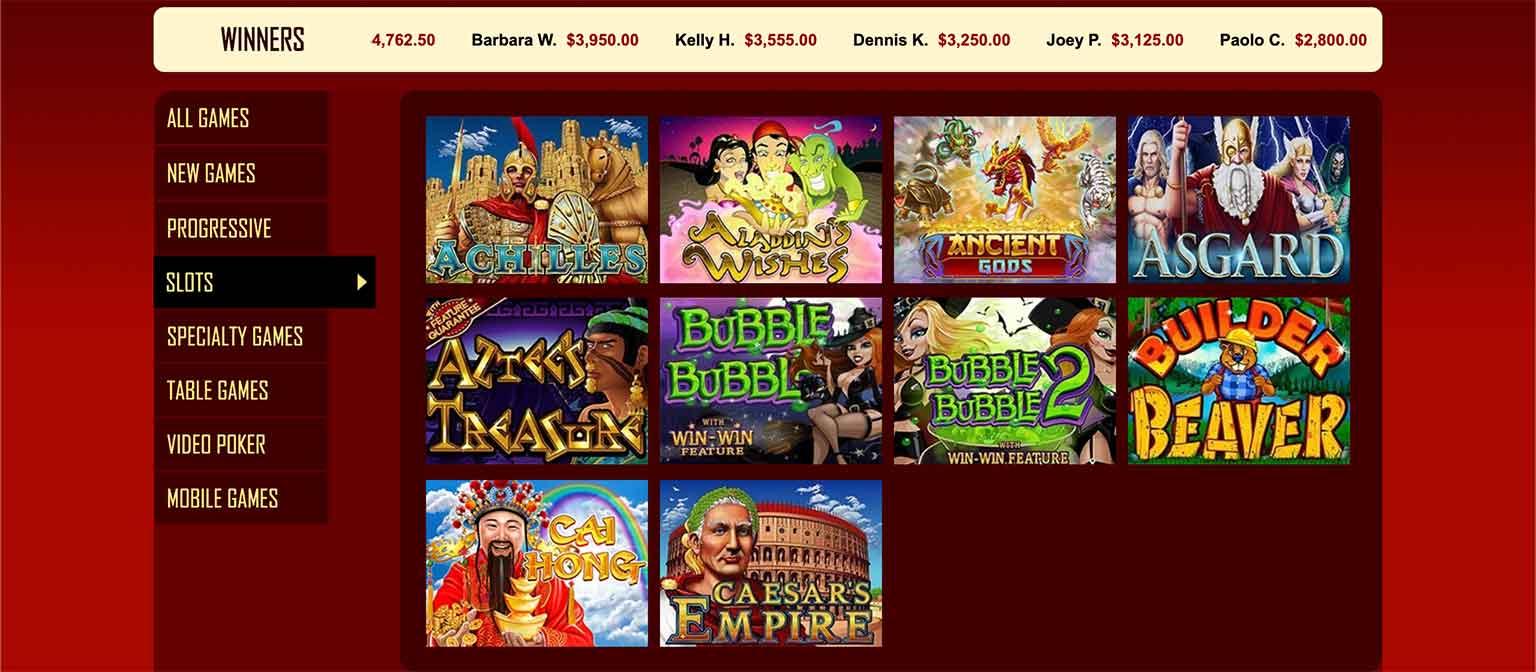 Grande Vegas Casino Spiele