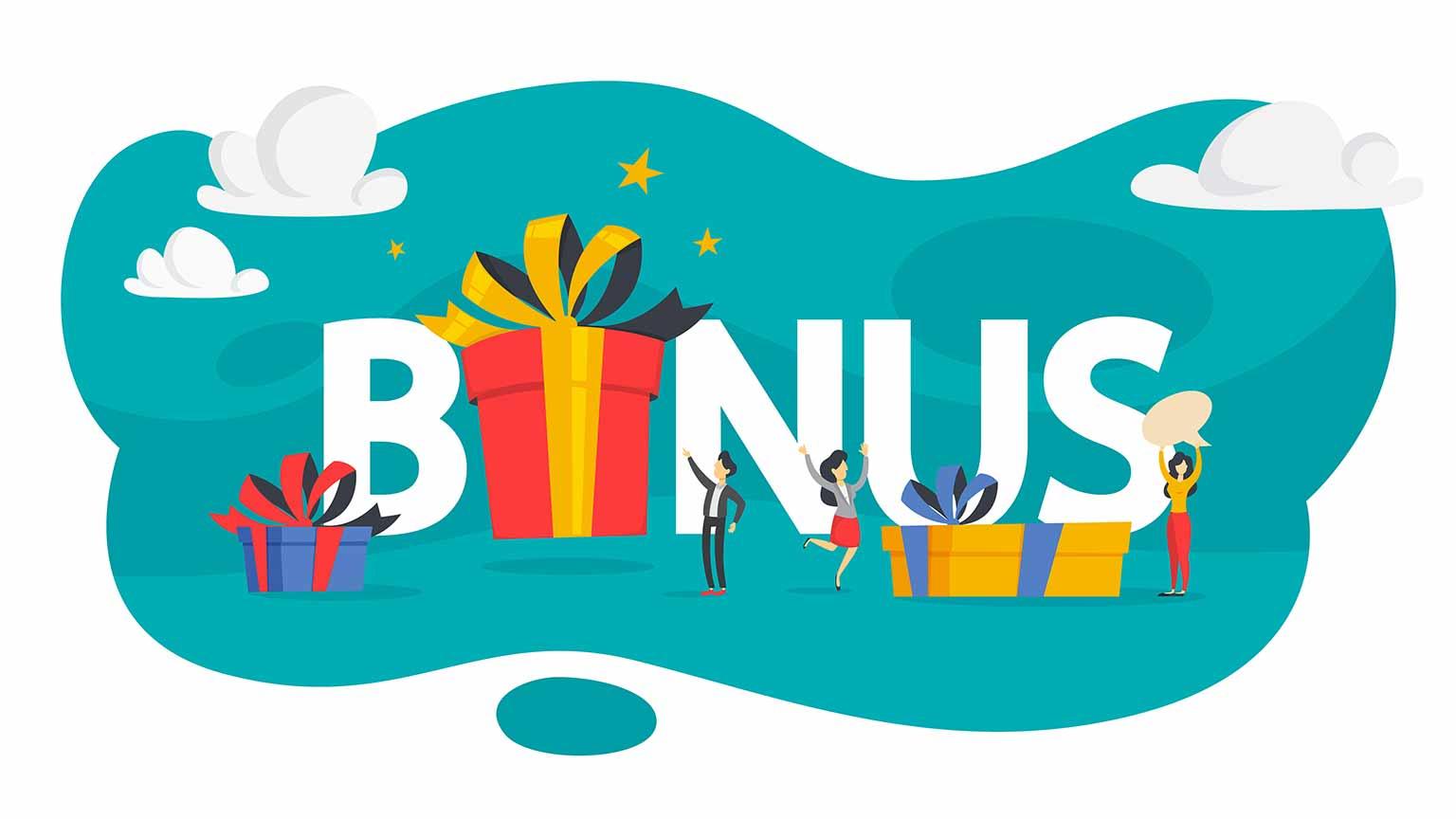 Arten von Online Casino Bonus