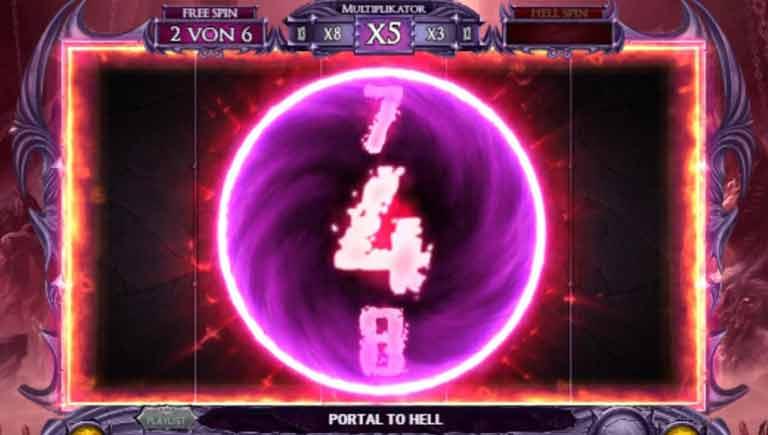 Portal zur Hölle Feature Demon Slot