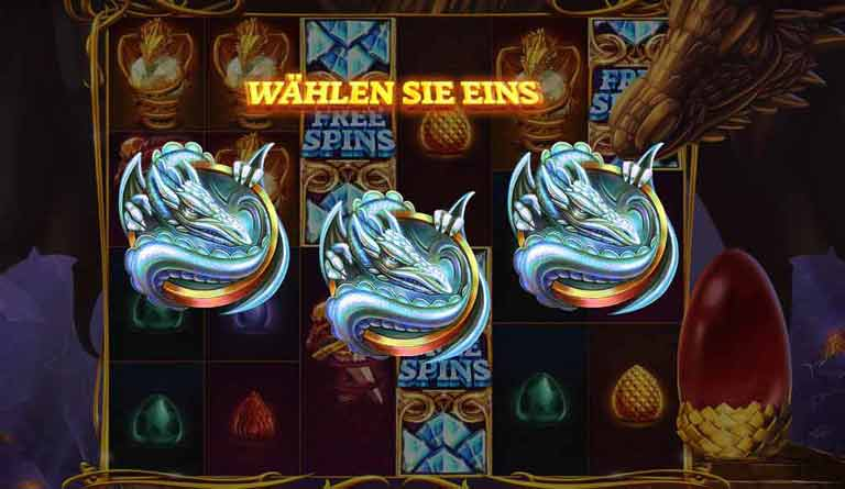 Free Spins Feature Dragons Fire Megaways Slot