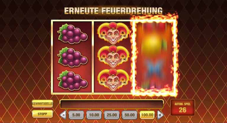 Feuerdrehung Fire Joker Slot