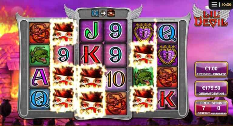 Engel Free Spins Lil Devil Slot
