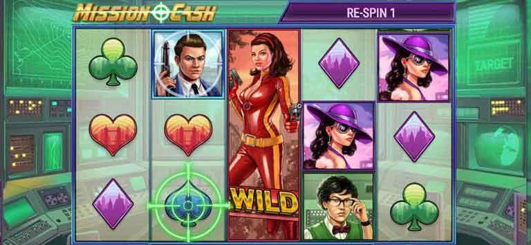 Wild Symbol Mission Cash Slot