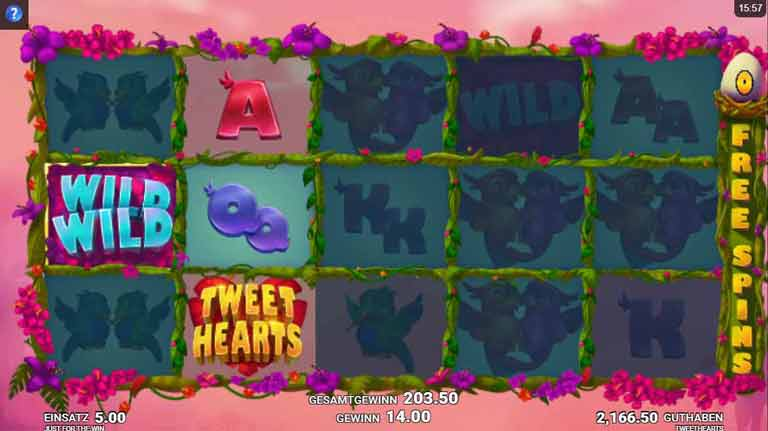 Free Spins Feature Tweethearts Slot