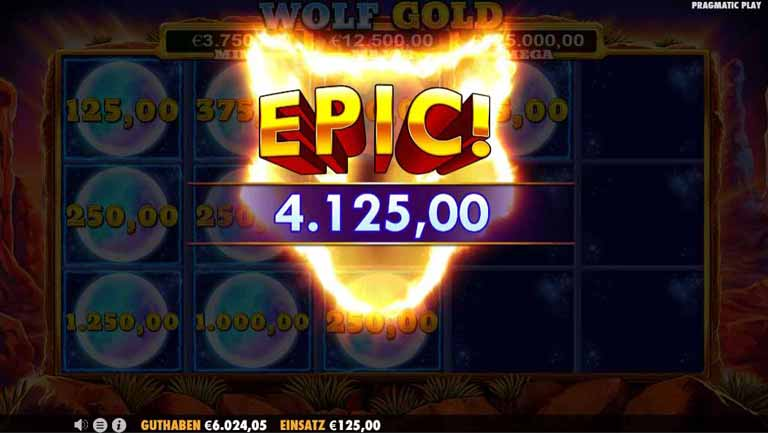 Respins Feature vom Wolf Gold Slot