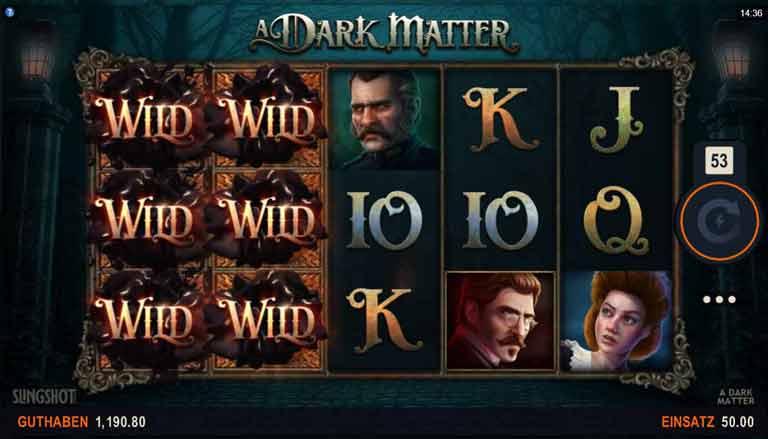 Wild-Symbol A Dark Matter Slot