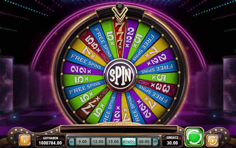 Glücksrad Big Win 777 Slot