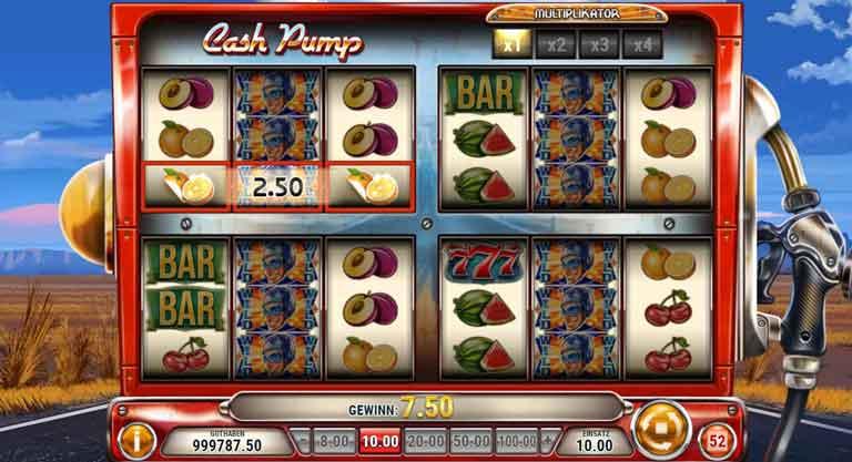 cash pump slot stacked wild