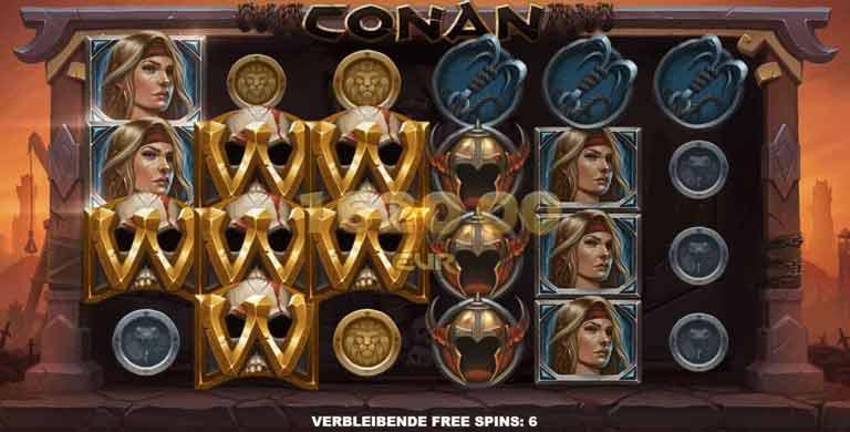 conan slot walls of tarantia feature