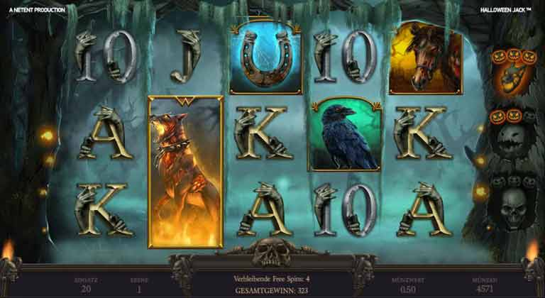 Stacked Hell Hound Halloween Jack Slot