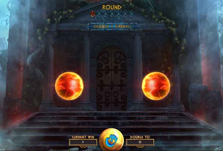 power of gods the pantheon slot gamble feature