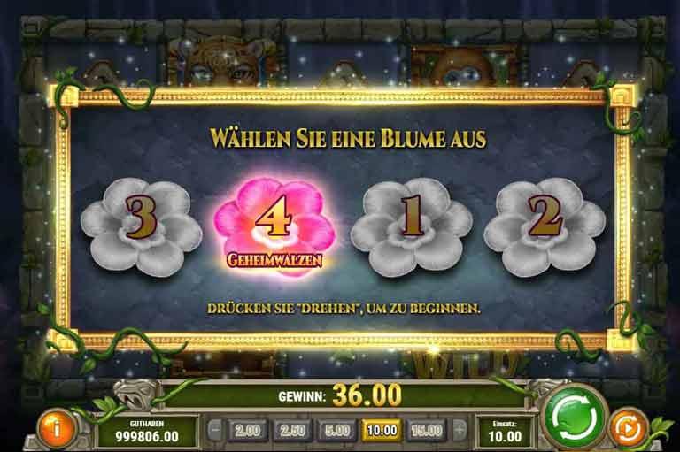 Free Spins Feature Rainforest Magic Slot