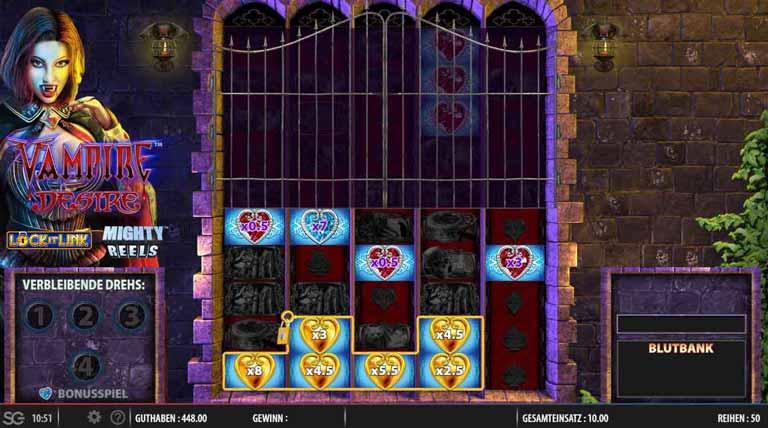 vampire desire slot lock it link bonus