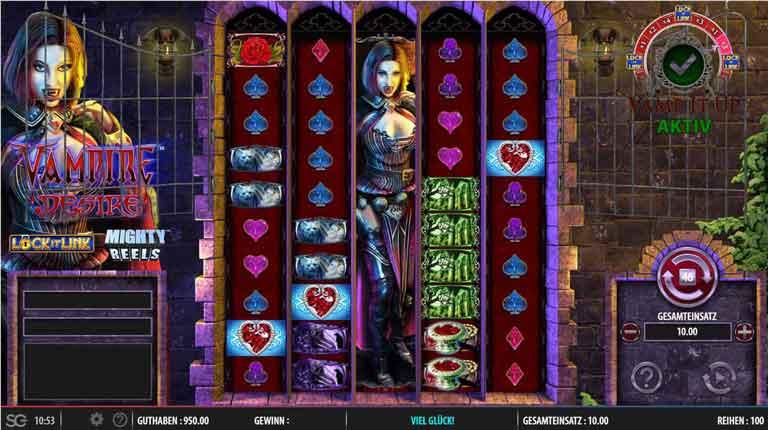 vampire desire slot mighty reels