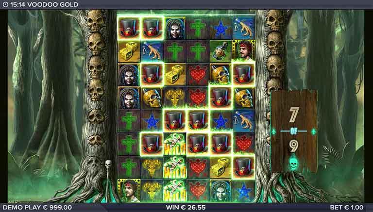 voodoo gold slot free drops