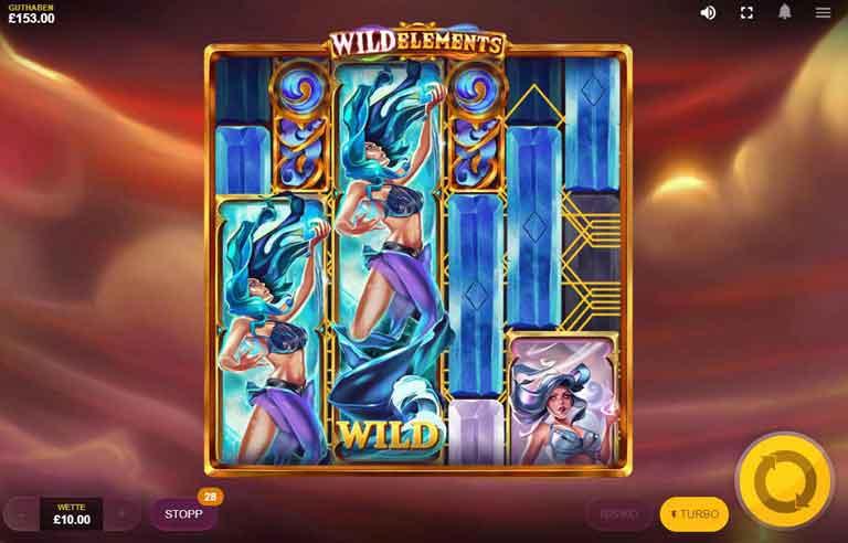 wild elements slot super wilds