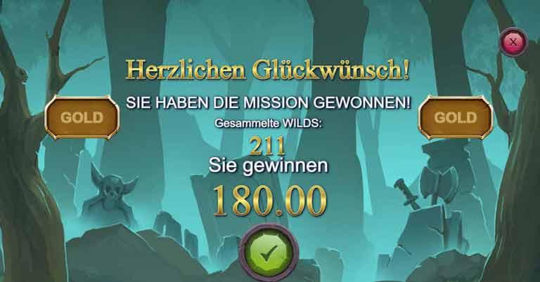 Missionen Feature im Wildcraft Slot