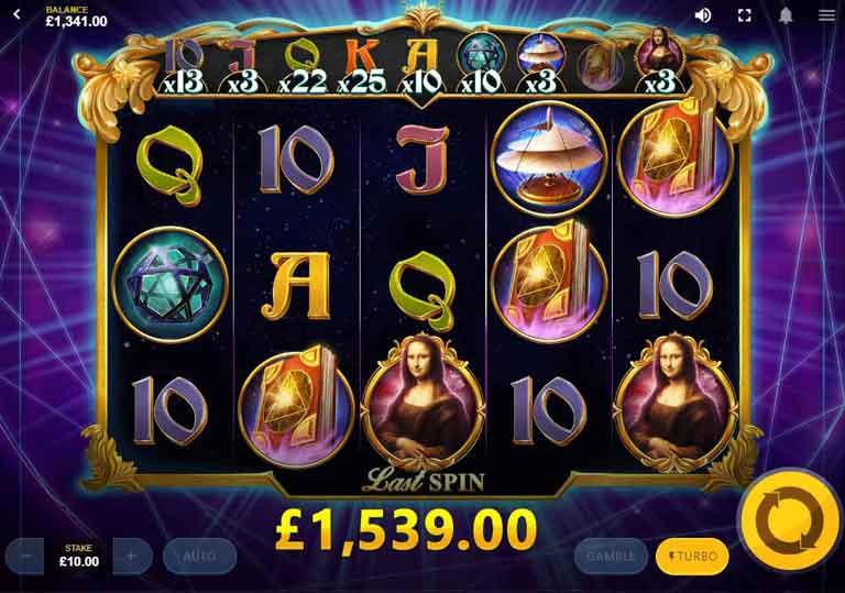 Da Vincis Mystery Super Lines Slot Free Spins