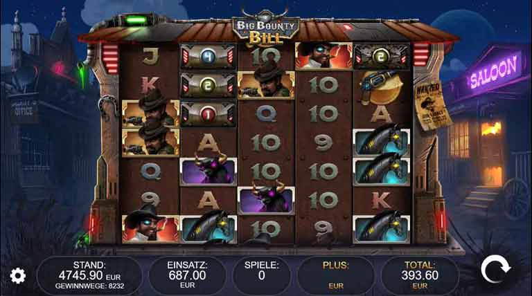 Free Spins Feature Big Bounty Bill Slot
