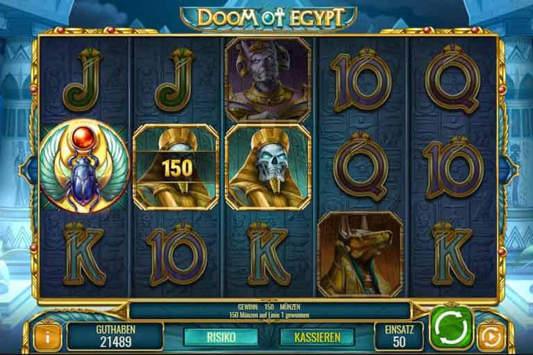 Wild-Symbol Doom of Egypt Slot