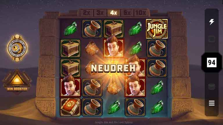 Neudreh Jungle Jim and the Lost Sphinx Slot