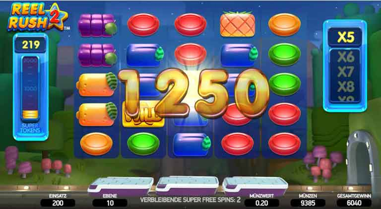 Super Spins Reel Rush 2 Slot