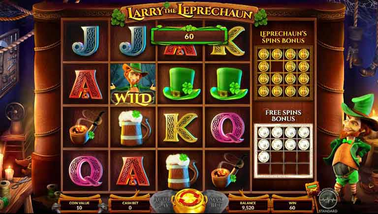 Free Spins Feature Larry the Leprechaun Slot