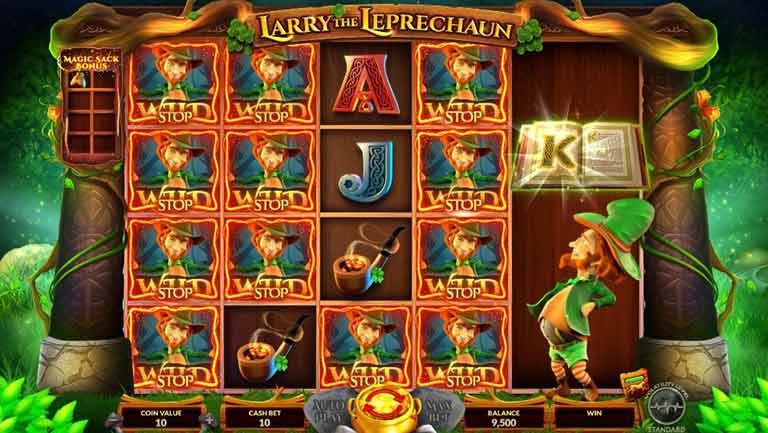Magic Sack Larry the Leprechaun Slot