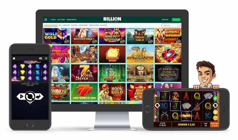 billion casino spiele