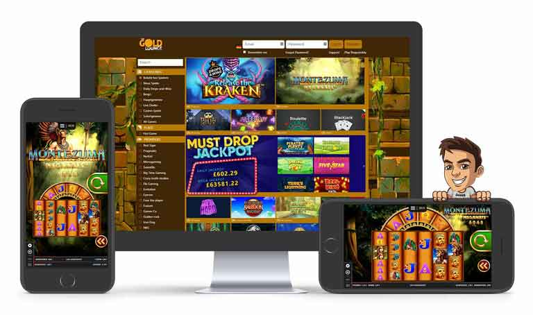 the gold lounge casino spiele