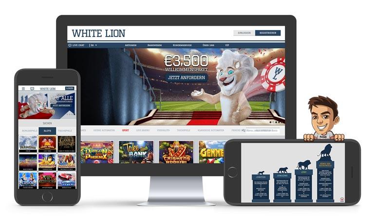 white lion casino erfahrungen